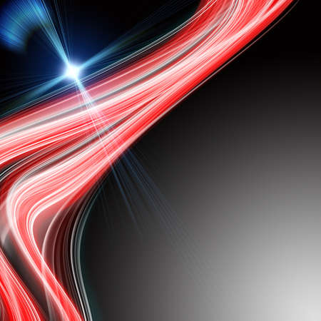 Futuristic technology wave background design with lights Stock Photo - 24677687