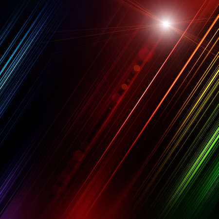 Futuristic stripe background design with lights Stock Photo