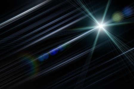 onward: Futuristic stripe background design with lights Stock Photo