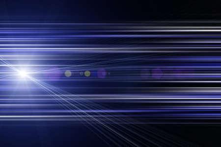 Futuristic stripe background design with lights photo