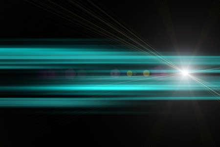 Futuristic stripe background design with lights Stock Photo