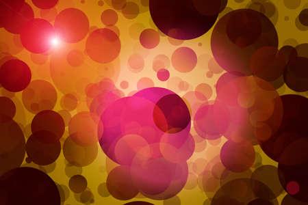 Fantastic powerful bubbles background design illustration illustration