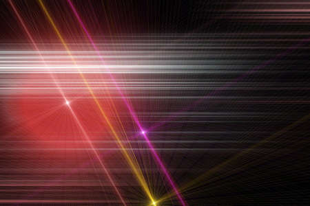 Futuristic stripe background design with lights photo