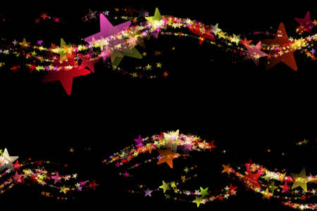 Wonderful Christmas background design illustration with stars illustration