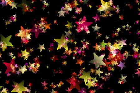 背景デザイン: 星と素晴らしいクリスマス背景デザイン イラスト