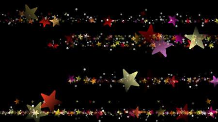 背景デザイン: 素晴らしいクリスマスの背景デザイン雪の結晶と星