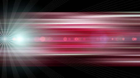 dawns: Futuristic stripe background design with lights Stock Photo