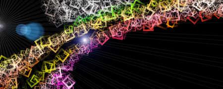 Futuristic technology background design illustration