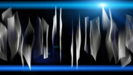 aesthetic: Futuristic technology wave background design with lights