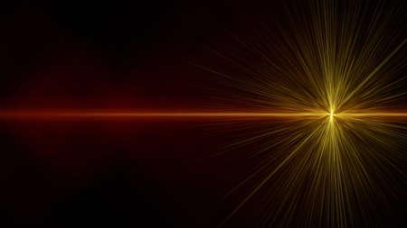 progressed: Futuristic glowing light flare background design illustration