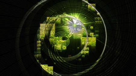 progressed: Futuristic eco background design with lights