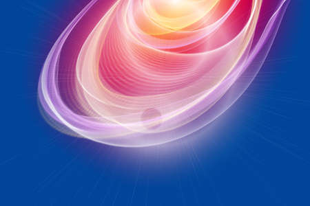 progressed: Futuristic technology wave background design with lights