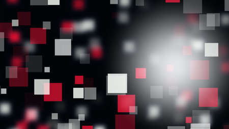 vision loss: Abstract square background design illustration Stock Photo