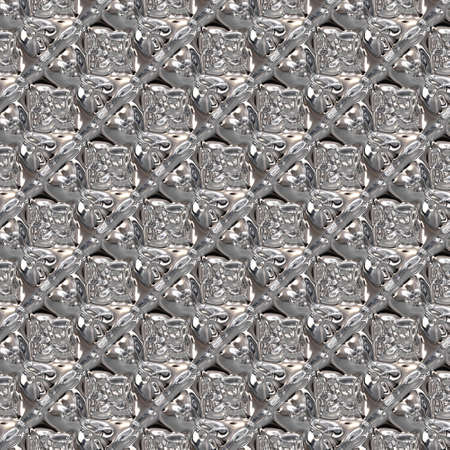 glass pattern: Wonderful abstract illustrated glass pattern Stock Photo