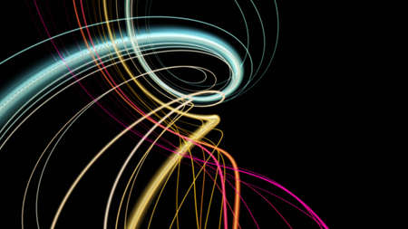 Futuristic particle stripe background design illustration