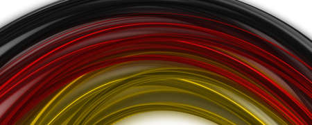 Abstract illustrated german color panorama design for sport events Stock Photo