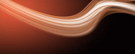 Abstract elegant wave panorama design with space for your text Stock Photo