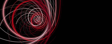 Powerful particle stripe panorama background design illustration