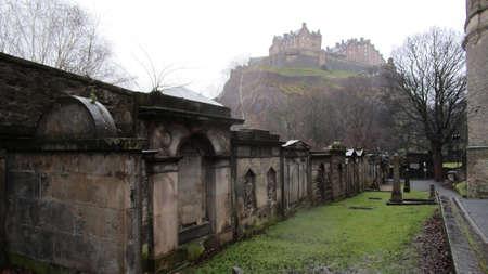 castle cemetery edinburgh