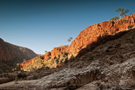 Ormiston Gorge in the West MacDonnell National Park, Australia Northern Territory