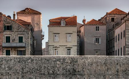 Narrow streets and historic buildings of Dubrovnik, Croatia