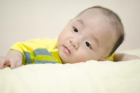 nursling: Asian infant