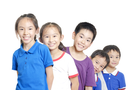 Smiling children photo