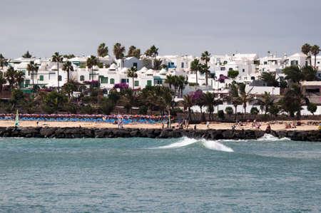 lanzarote: The Beach Of Costa Teguise, Lanzarote