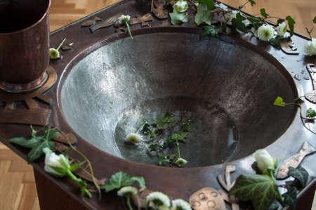 洗礼のフォント