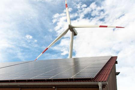 再生可能エネルギー 写真素材
