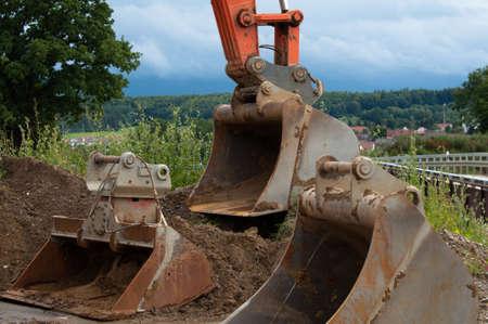Excavator shovels