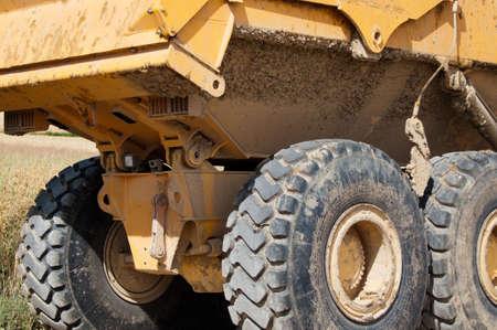 マイニング トラック 写真素材