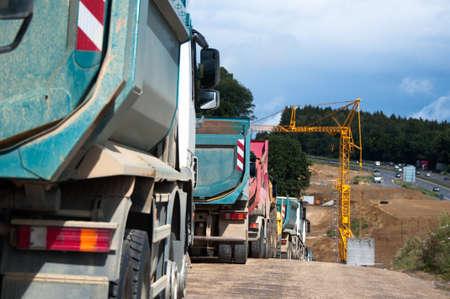 dumptruck: Highway Construction