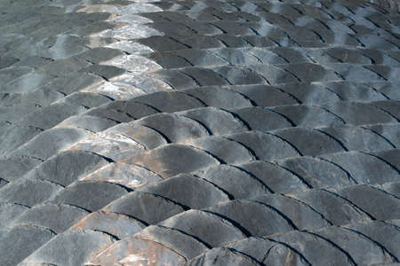 Slate roof detail Stock Photo - 15328599