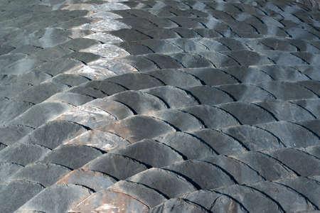 slate roof: Slate roof detail