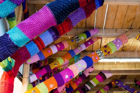 編み物ゲリラ