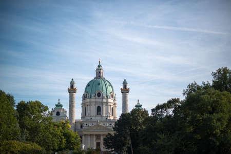 st charles: San Carlo Chiesa di Karlskirche a Vienna