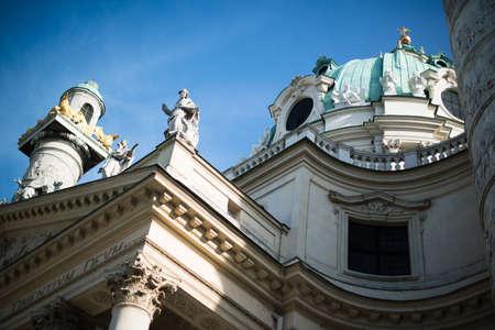 st charles: St  Charles  Church  Karlskirche  in Vienna