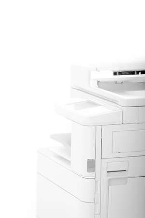 Office Multifunction Printer - abstract photo with bright light