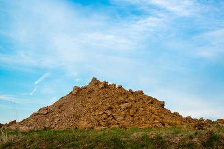 ゴミの山 写真素材