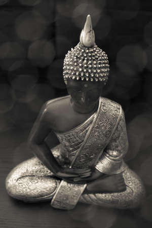 Meditation - statue of buddha photo