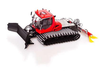 snow grooming machine: Snow-grooming machine or snowcat