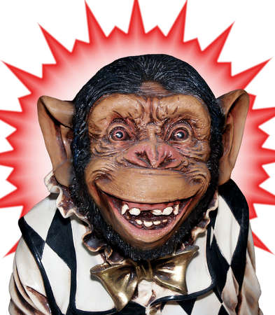grotesque: Grotesque chimp with starburst version A