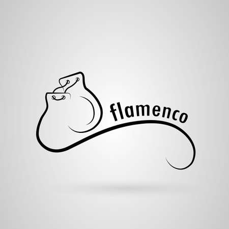 castanets: flamenco. castanets