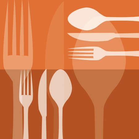 fond restaurant: restaurant Contexte Illustration