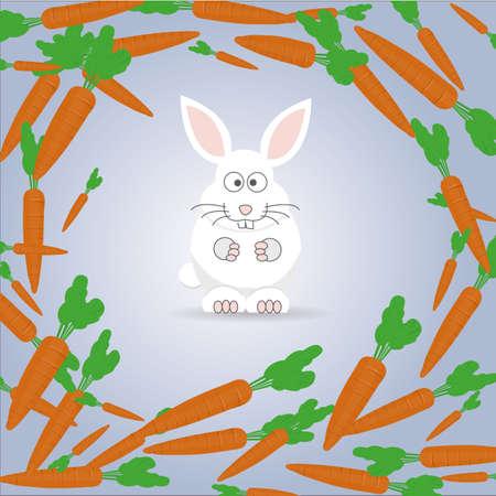 decision: The decision of the rabbit.  Illustration