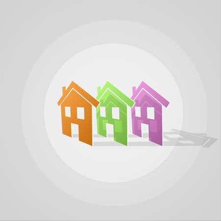 houses: colored houses