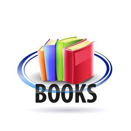 Logo color books Reklamní fotografie - 107314559