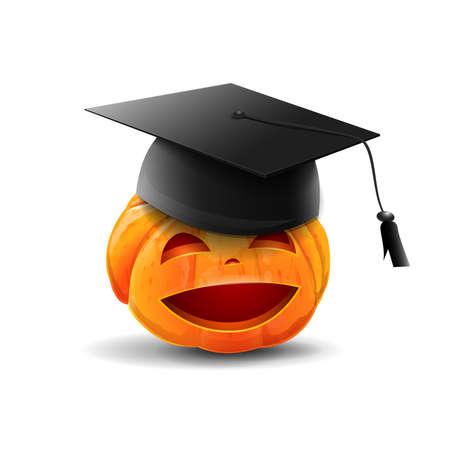 Happy halloween school Stock Illustratie