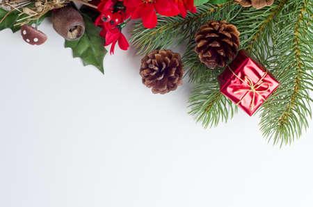 themed: A Christmas themed border